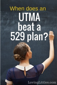 College Savings: When an UTMA Beats a 529 plan