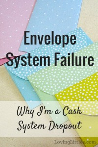 What is the envelope system? Here's why I'm a complete failure at this method of budgeting.