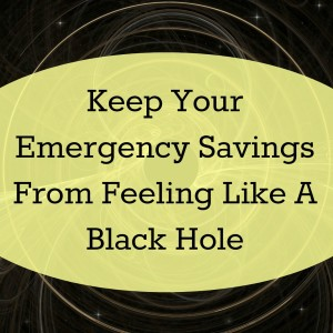 Ever feel like your emergency savings are just a big black hole for money that never gets spent or used? Here's the trick for helping those savings to feel like a part of the family again.