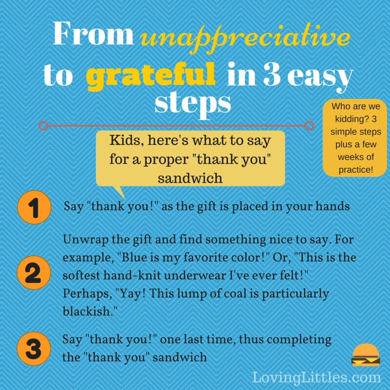 Grateful Kids Steps Graphic