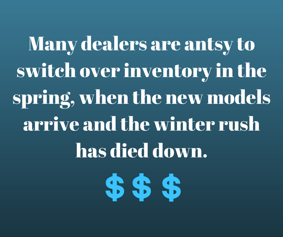 Many dealers are antsy to switch over