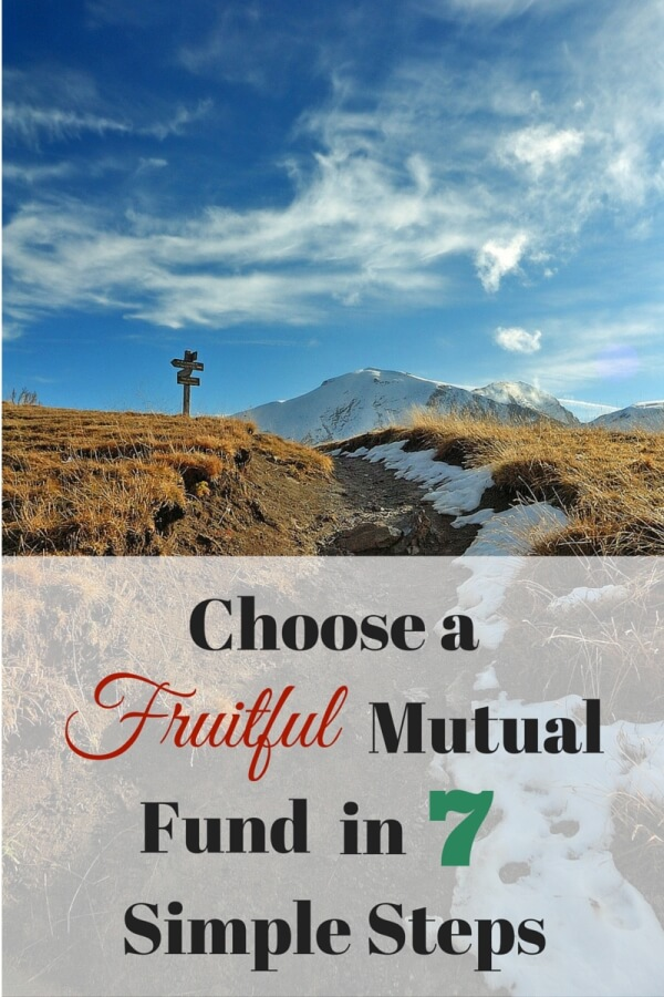 Perplexed at how to choose a good mutual fund? Here are 7 simple steps that will take you from researching a fund to purchasing your investment.
