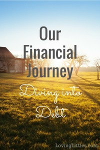 Our Financial Journey - Diving into Debt