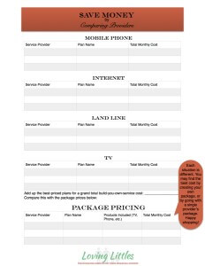 Comparing Cell Phone Providers
