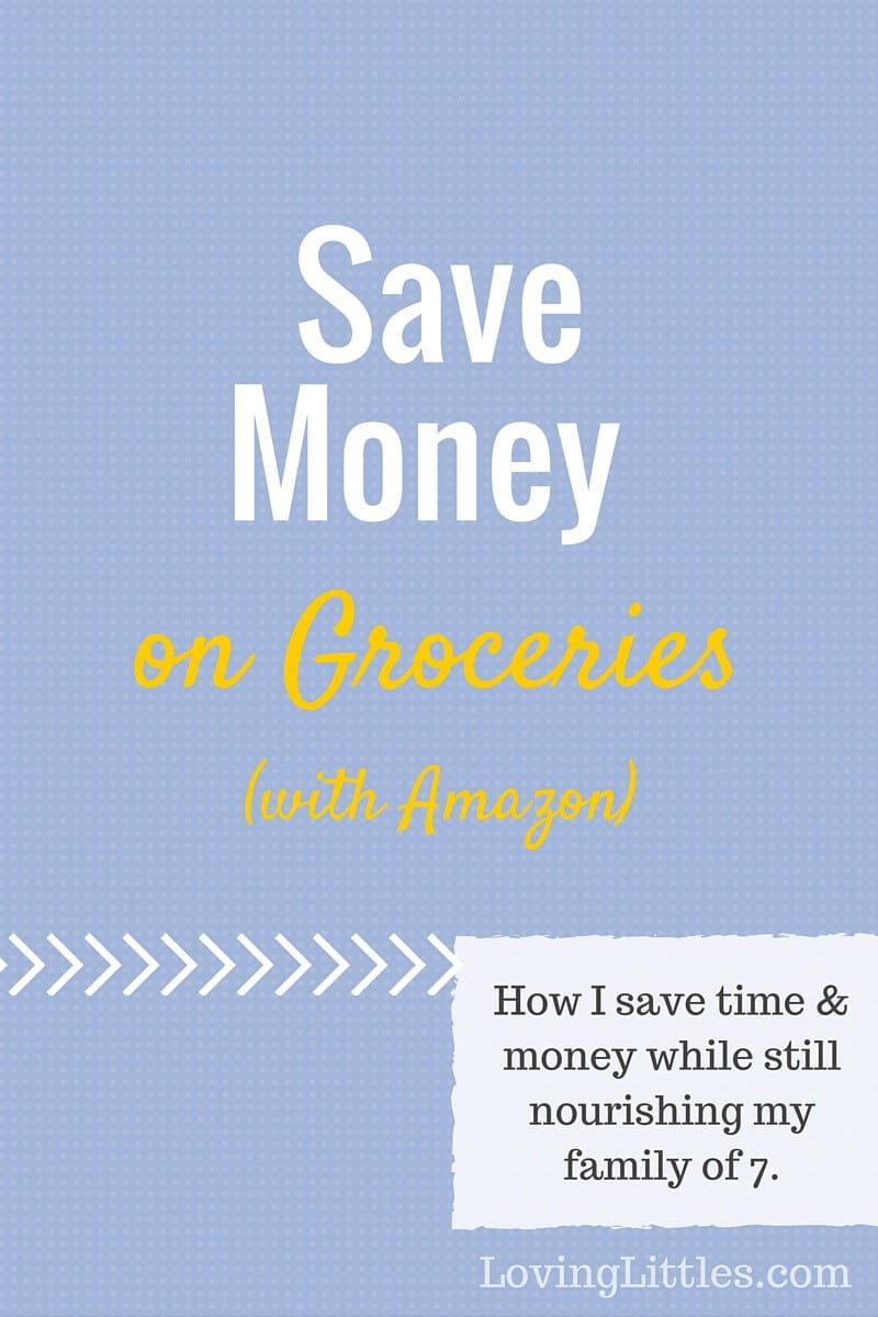 Do you want to save money on grocery items that you use everyday? Would you like the convenience of having those items ship straight to your door? Here's how to save money on groceries AND get the convenience of having products shipped, all with Amazon Subscribe & Save.