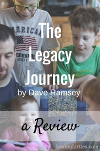 Have you ever considered your legacy? Dave Ramsey's newest book, The Legacy Journey, is an inspiring and sobering look at generational wealth. It includes wisdom about giving & investing, as well as practical tips for creating a healthy, lasting legacy.