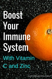 Looking for a way to boost your immune system? Here's the method that has worked wonders for my family: the magical combination of vitamin C and Zinc.