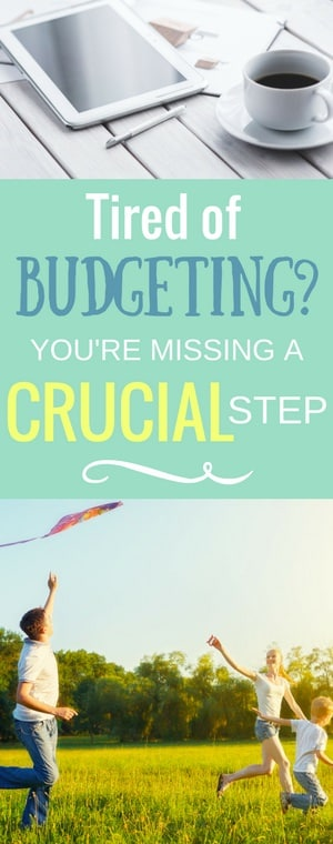 Sick of being on a restrictive budget? Tired of overspending on impulse purchases that mean nothing? Discover the crucial step that will help you tame budget-breaking spending sprees and love your financial situation more.
