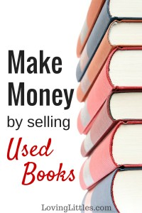 Need to make money quickly? Try selling used books. I've been working with this company for a decade to turn used books into cash. It's fast and easy!