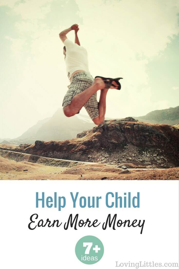 Got any budding entrepreneurs at your house? Kids can get soooo excited about the prospect of earning a dollar. Here are 7 of my favorite ideas for how to make money as a kid, plus even more great resources!