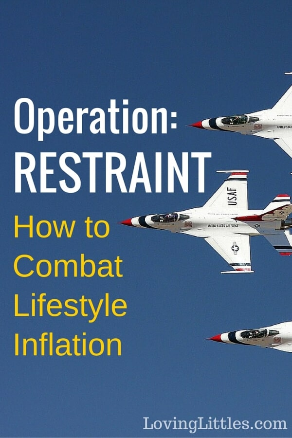 How to Combat Lifestyle Inflation