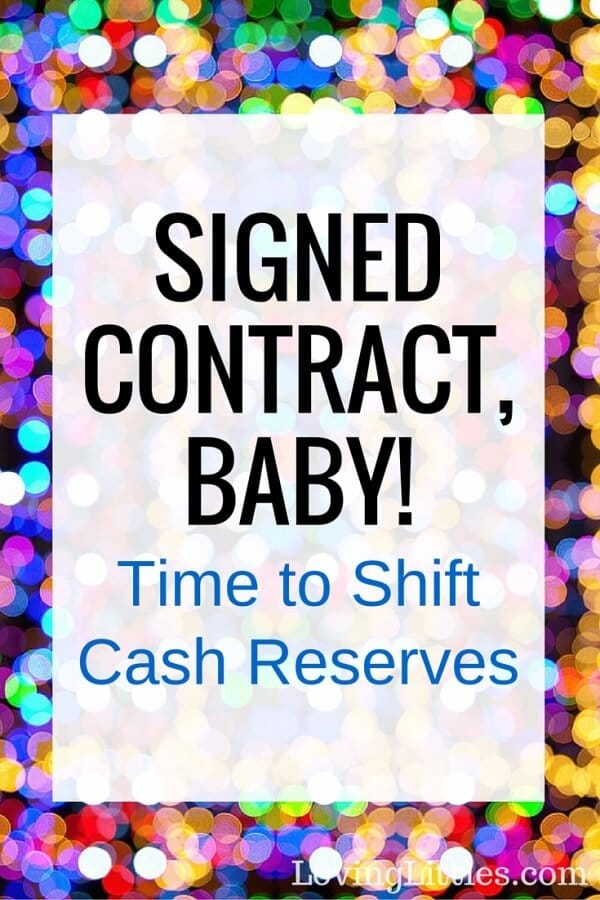 How a Signed Contract Affects Our Finances
