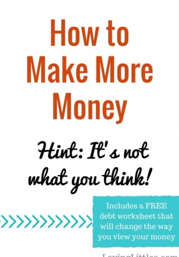 Make More Money by Saving More Money