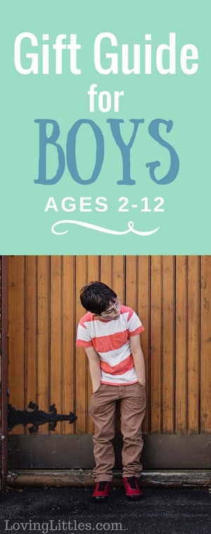 Best Gifts for Boys -- Parenting boys is always an adventure. They are courageous and bold. Here are some of the best gifts for boys, selected by this mom who has five of her own!