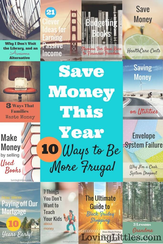 Save money this year with these 10 ideas to help you be frugal, pay off debt, and reach your financial goals.