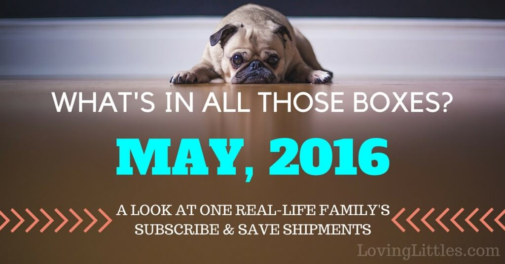 Subscribe & Save for May