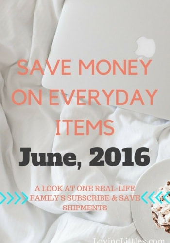 Subscribe & Save for June