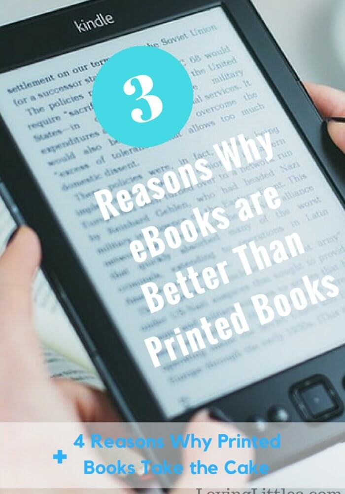 eBooks vs Printed Books – Which are best?