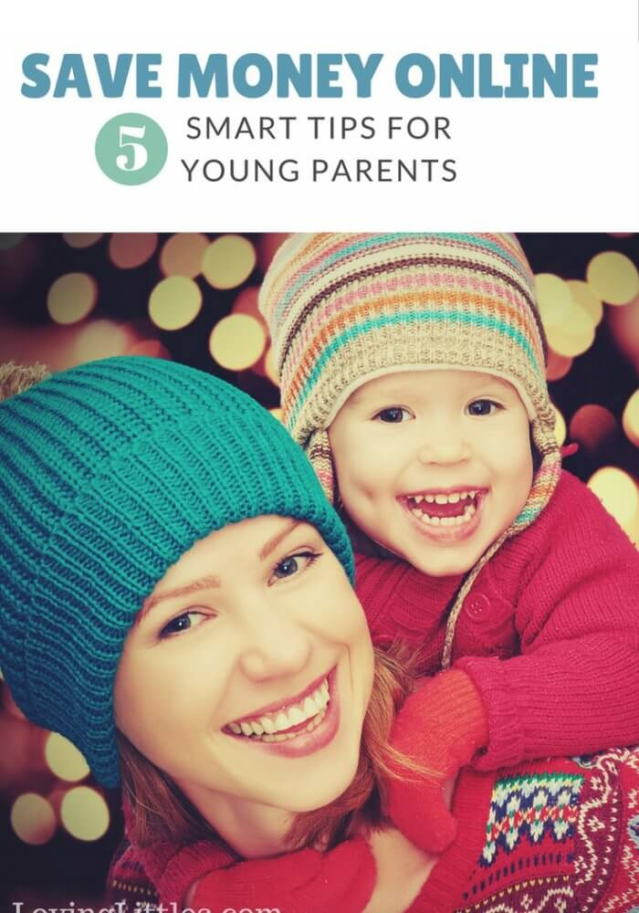 5 Online Money-Saving Tips For Young Parents