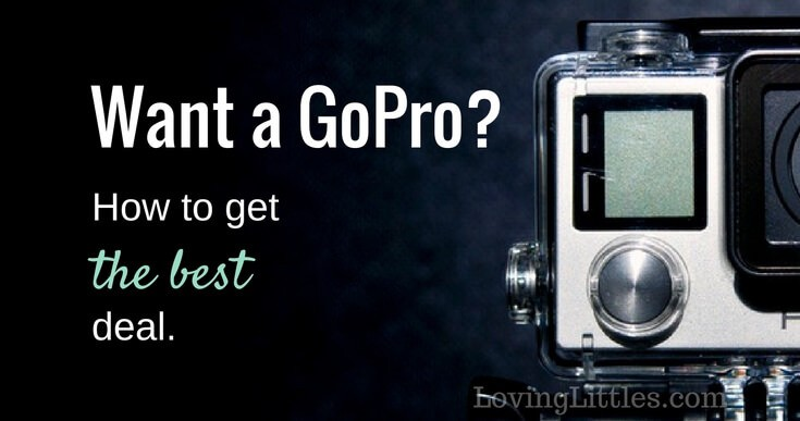 Want a GoPro at a great price? Join all your friends on Facebook driving you crazy with GoPro videos. Here's how to buy a cheap GoPro (basically new!) and film your own family adventures.