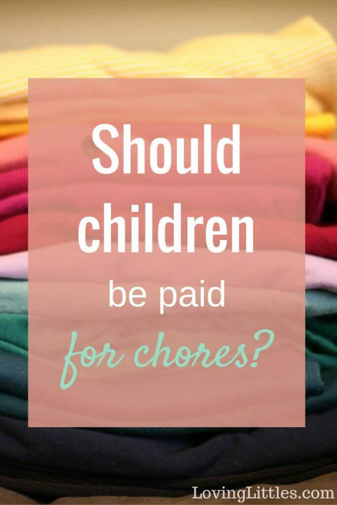 Should children be paid for chores? We take a look at the pros and cons of each, helpfully examining both sides of the issue.