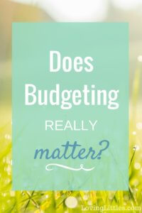 Why Budgeting is Important