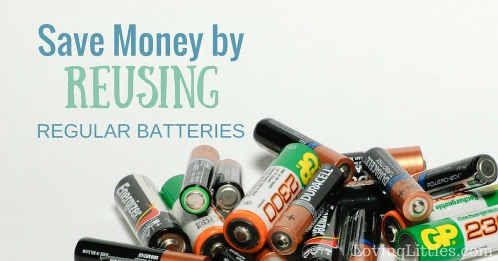 Don't buy into the myth that your family needs to purchase endless batteries - you don't! Try recharging alkaline batteries instead.