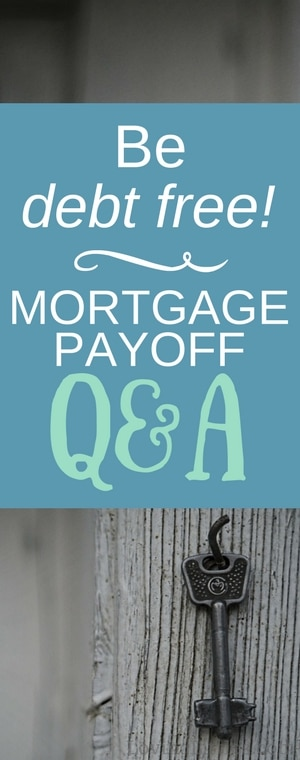 Want to get out of debt... completely? Curious what the mortgage payoff process looks like? This is our real-life (family of 8!) mortgage payoff story. #MortgagePayoff #PayoffMortgage #EarlyMortgagePayoff