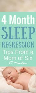 Four Month Sleep Regression Tips