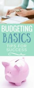 Want to know how to create and use a budget? These budgeting basics will get your family finances off to a great start! Read on...