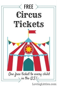 Do you have a new baby? I've got a deal for you... free circus tickets! Seriously, it's true, and there's no catch. I'll show you where to go to snag 'em.