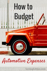 Here's how we budget for our automotive expenses, including tips for saving money on fuel, maintenance, and insurance.