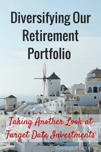 It's time to add to our retirement portfolio! Have you looked at your retirement investments lately?