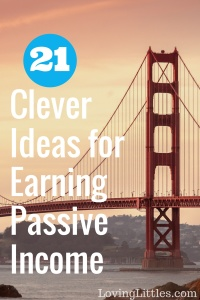Ideas for Earning Passive Income