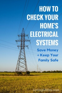 When's the last time you checked your home's electrical system? Save money + keep your family safe with these simple tips.