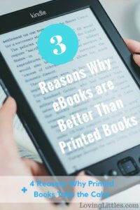 3 Reasons Why ebooks are Better Than Printed Books