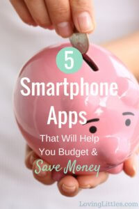 5 smartphone apps that will help you budget and save money