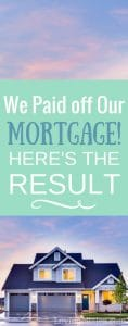 Paid off Mortgage: How it Really Feels