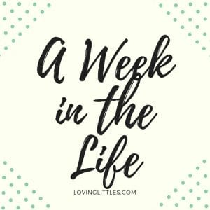 A Week in The Life: First Week of August, 2018